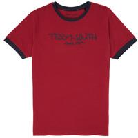 衣服 男孩 短袖体恤 Teddy Smith 泰迪 史密斯 TICLASS 3 红色
