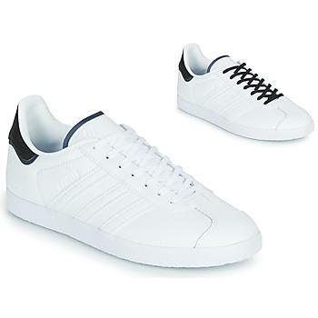 鞋子 球鞋基本款 Adidas Originals 阿迪达斯三叶草 GAZELLE 白色