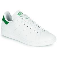 鞋子 球鞋基本款 Adidas Originals 阿迪达斯三叶草 STAN SMITH VEGAN 白色 / 绿色