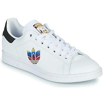 鞋子 女士 球鞋基本款 Adidas Originals 阿迪达斯三叶草 STAN SMITH W 白色 / Ogo
