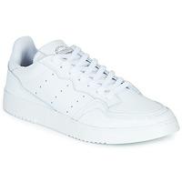 鞋子 球鞋基本款 Adidas Originals 阿迪达斯三叶草 SUPERCOURT 白色