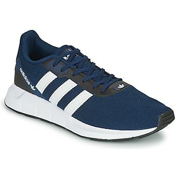 鞋子 球鞋基本款 Adidas Originals 阿迪达斯三叶草 SWIFT RUN RF 海蓝色