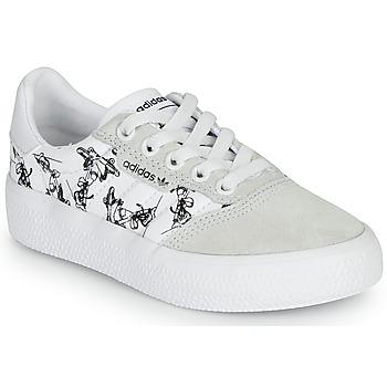 鞋子 儿童 球鞋基本款 Adidas Originals 阿迪达斯三叶草 3MC C X DISNEY SPORT 白色