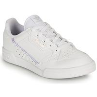 鞋子 女孩 球鞋基本款 Adidas Originals 阿迪达斯三叶草 CONTINENTAL 80 C 白色 /  iridescent