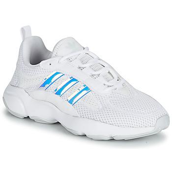 鞋子 女孩 球鞋基本款 Adidas Originals 阿迪达斯三叶草 HAIWEE J 白色 /  iridescent