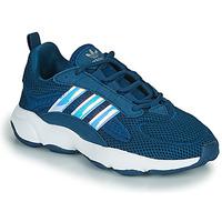 鞋子 男孩 球鞋基本款 Adidas Originals 阿迪达斯三叶草 HAIWEE J 蓝色