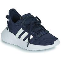 鞋子 男孩 球鞋基本款 Adidas Originals 阿迪达斯三叶草 U_PATH RUN C 海蓝色 / 白色