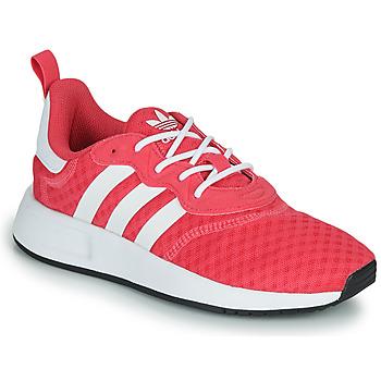 鞋子 女孩 球鞋基本款 Adidas Originals 阿迪达斯三叶草 X_PLR S J 玫瑰色