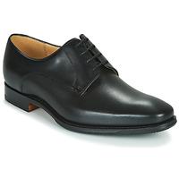 鞋子 男士 德比 Barker ELLON 黑色