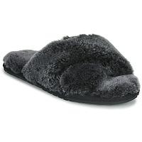 鞋子 女士 拖鞋 EMU MAYBERRY FROST 黑色