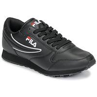 鞋子 男士 球鞋基本款 Fila ORBIT LOW 黑色