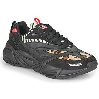 鞋子 女士 球鞋基本款 Fila RUSH F WMN 黑色