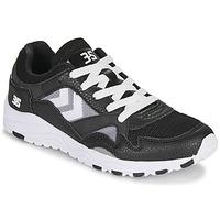 鞋子 男士 球鞋基本款 Hummel EDMONTON 3S LEATHER 黑色