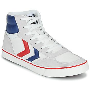 鞋子 高帮鞋 Hummel STADIL HIGH OGC 3.0 白色 / 蓝色 / 红色