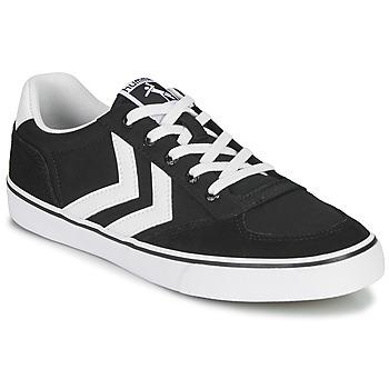 鞋子 球鞋基本款 Hummel STADIL LOW OGC 3.0 黑色 / 白色