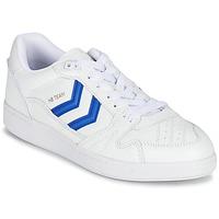 鞋子 球鞋基本款 Hummel HB TEAM 白色 / 蓝色