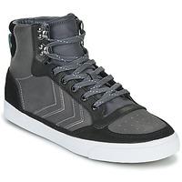 鞋子 高帮鞋 Hummel STADIL WINTER 黑色 / 灰色