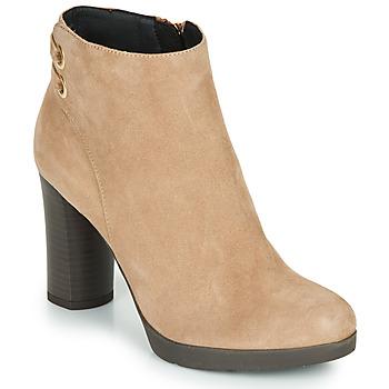 鞋子 女士 短靴 Geox 健乐士 ANYLLA HIGH 米色