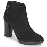 鞋子 女士 短靴 Geox 健乐士 ANYLLA HIGH 黑色