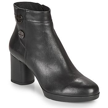 鞋子 女士 短靴 Geox 健乐士 ANYLLA MID 黑色