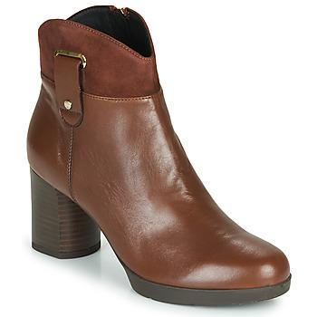 鞋子 女士 短靴 Geox 健乐士 ANYLLA MID 棕色