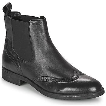 鞋子 女士 短靴 Geox 健乐士 JAYLON 黑色