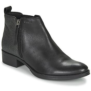 鞋子 女士 短靴 Geox 健乐士 LACEYIN 黑色 / 银色
