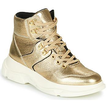 鞋子 女士 短靴 Geox 健乐士 MACAONE 金色