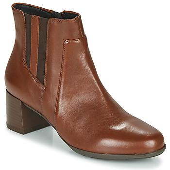 鞋子 女士 短靴 Geox 健乐士 NEW ANNYA MID 棕色