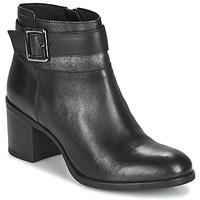 鞋子 女士 短靴 Geox 健乐士 NEW ASHEEL 黑色