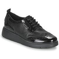 鞋子 女士 德比 Geox 健乐士 ARLARA 黑色