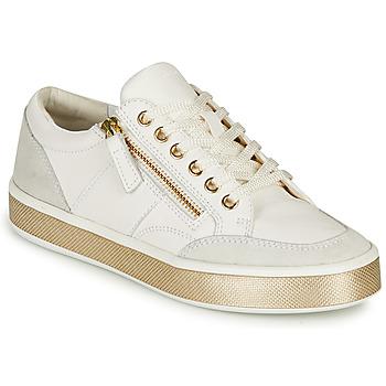 鞋子 女士 球鞋基本款 Geox 健乐士 LEELU 白色