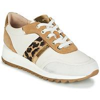 鞋子 女士 球鞋基本款 Geox 健乐士 TABELYA 白色 / Leopard