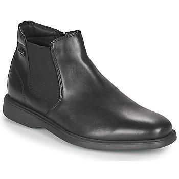 鞋子 男士 短筒靴 Geox 健乐士 BRAYDEN 2FIT ABX 黑色