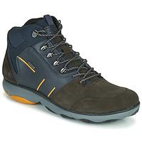 鞋子 男士 短筒靴 Geox 健乐士 NEBULA 4 X 4 B ABX 海蓝色 / 棕色