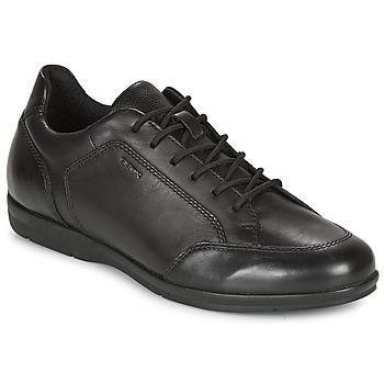 鞋子 男士 德比 Geox 健乐士 ADRIEN 黑色