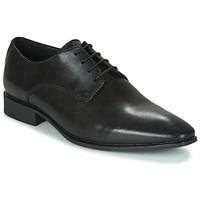 鞋子 男士 德比 Geox 健乐士 UOMO HIGH LIFE 黑色