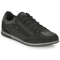 鞋子 男士 球鞋基本款 Geox 健乐士 RENAN 黑色