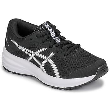 鞋子 儿童 跑鞋 Asics 亚瑟士 PATRIOT 12 GS 黑色 / 白色