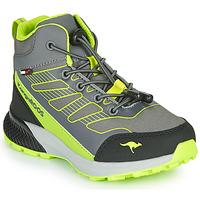 鞋子 男孩 高帮鞋 Kangaroos K-SCOUT RTX 灰色 / 绿色