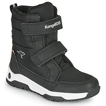 鞋子 儿童 雪地靴 Kangaroos K-MAJOR V RTX 黑色