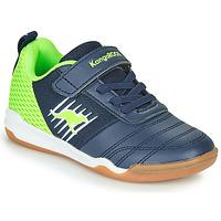 鞋子 男孩 球鞋基本款 Kangaroos SUPER COURT EV 蓝色 / 绿色