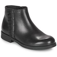 鞋子 女孩 短筒靴 Geox 健乐士 AGGATA 黑色