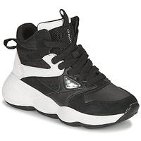 鞋子 女孩 高帮鞋 Geox 健乐士 BUBBLEX 黑色 / 白色