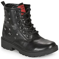 鞋子 女孩 短筒靴 Geox 健乐士 CASEY 黑色