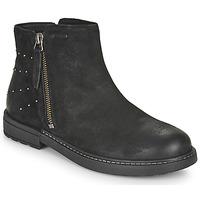 鞋子 女孩 短筒靴 Geox 健乐士 ECLAIR 黑色