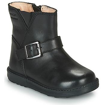 鞋子 女孩 都市靴 Geox 健乐士 HYNDE WPF 黑色