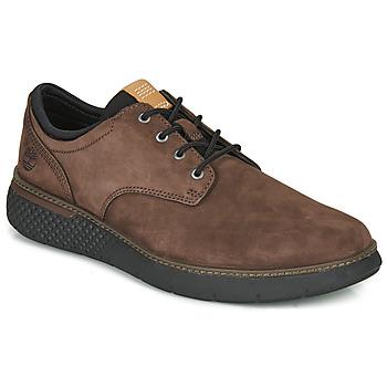 鞋子 男士 球鞋基本款 Timberland 添柏岚 CROSS MARK PT OXFORD 棕色