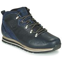 鞋子 男士 短筒靴 Timberland 添柏岚 SPLITROCK 3 蓝色