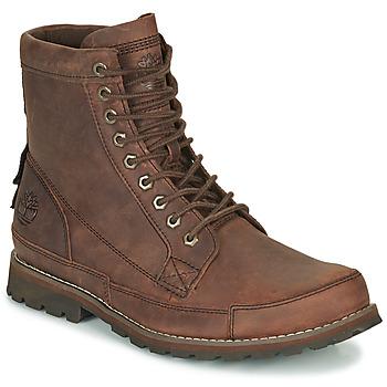 鞋子 男士 短筒靴 Timberland 添柏岚 ORIGINALS II LTHR 6IN BT 棕色